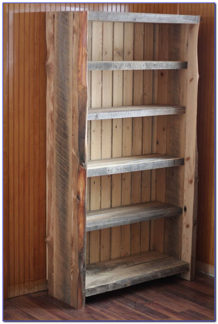 Recycled Wood Bookcase