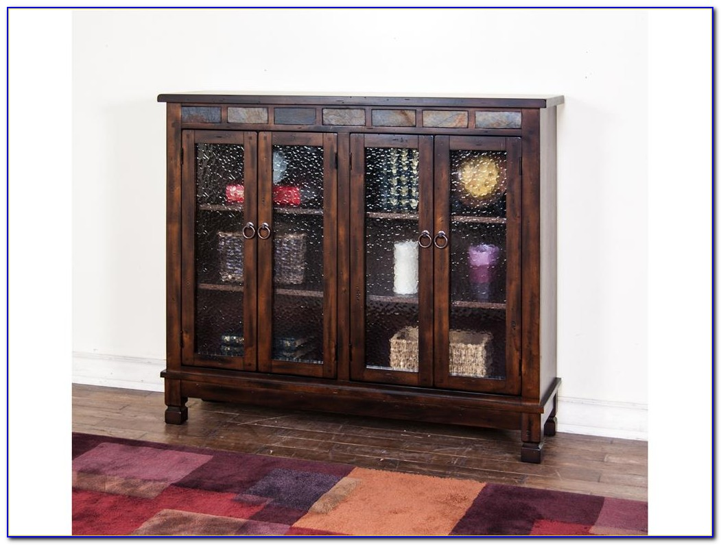 Santa Fe 4 Door Bookcase