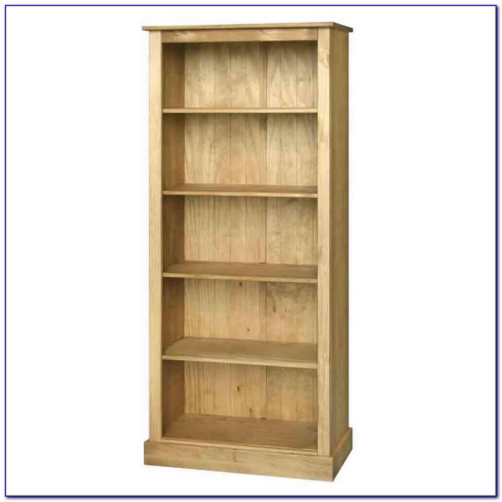 Santa Fe Style Bookcase
