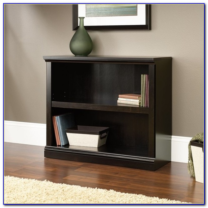 Sauder 2 Shelf Bookcase Black