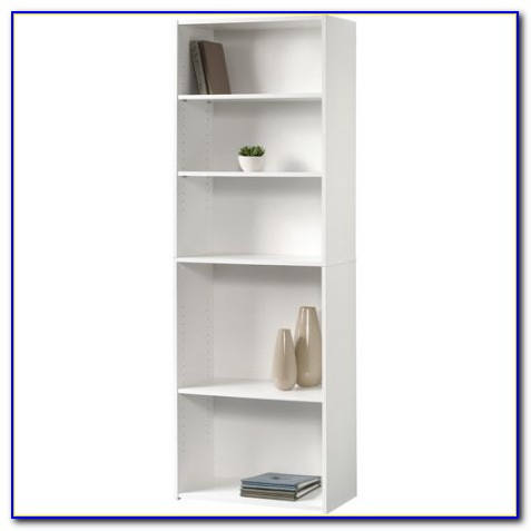 Sauder 4 Shelf Bookcase White