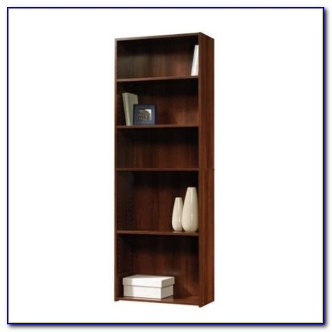 Sauder Beginnings 5 Shelf Bookcase Cherry