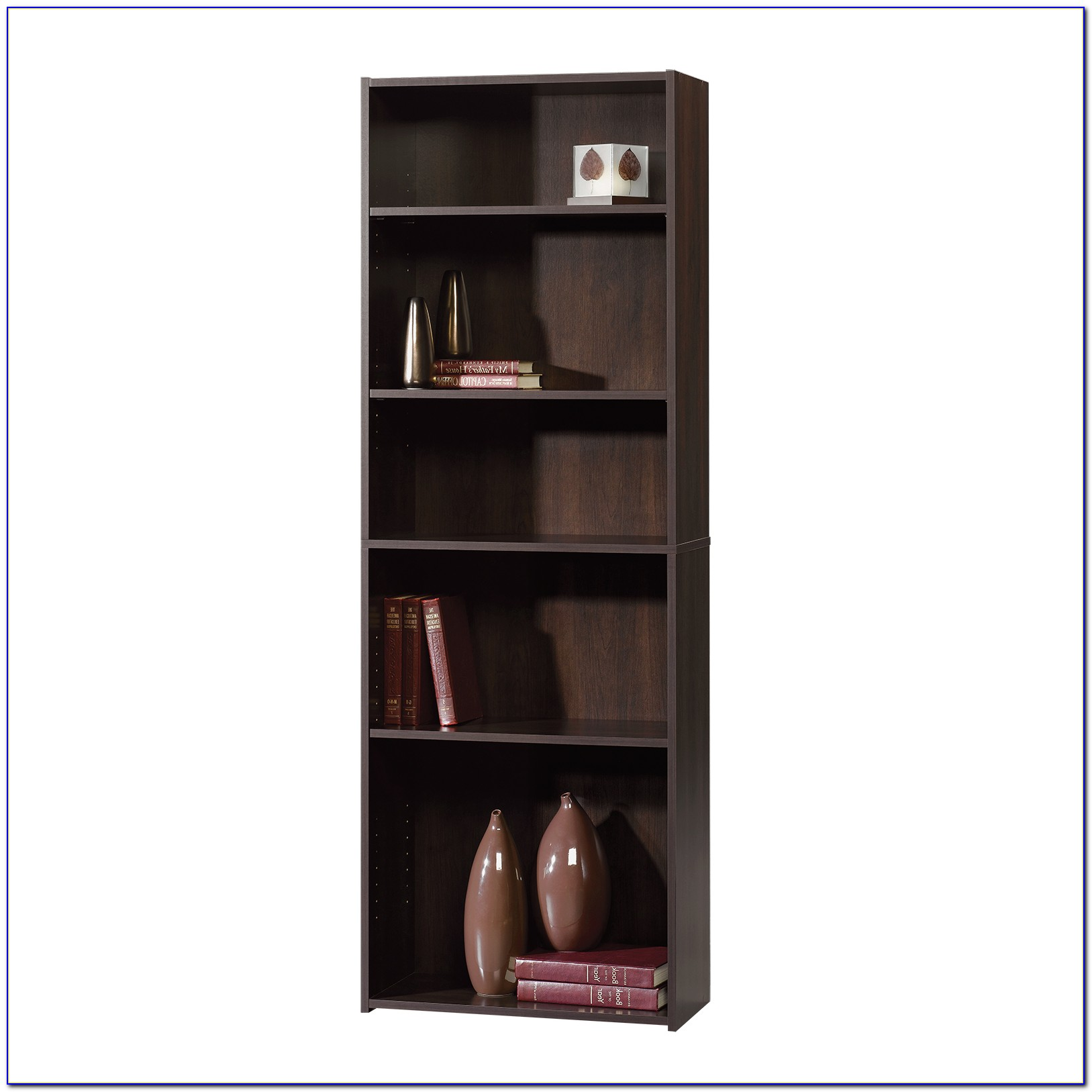 Sauder Beginnings 5 Shelf Bookcase Soft White