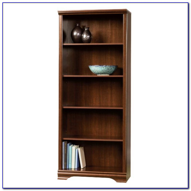 Sauder Cinnamon Cherry Bookcase