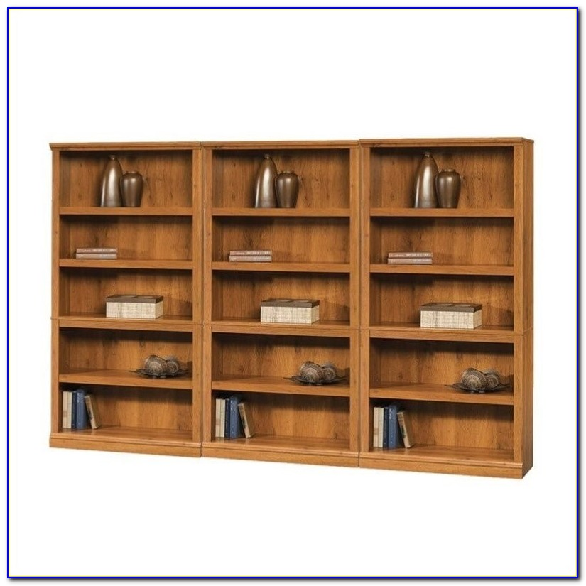 Sauder Harbor View Salt Oak Bookcase