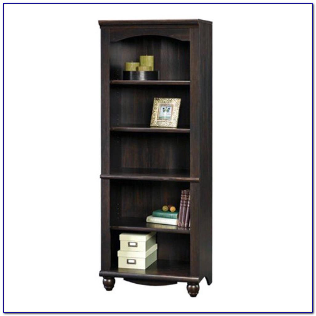 Sauder Library Bookcase Estate Black Finish