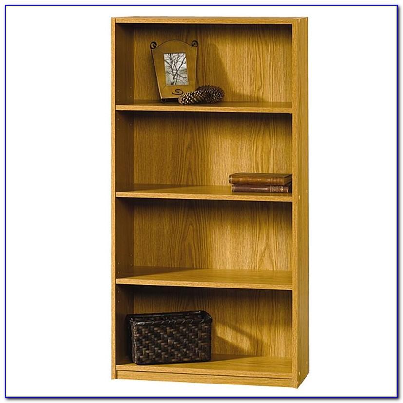 Sauder Oak Bookshelf