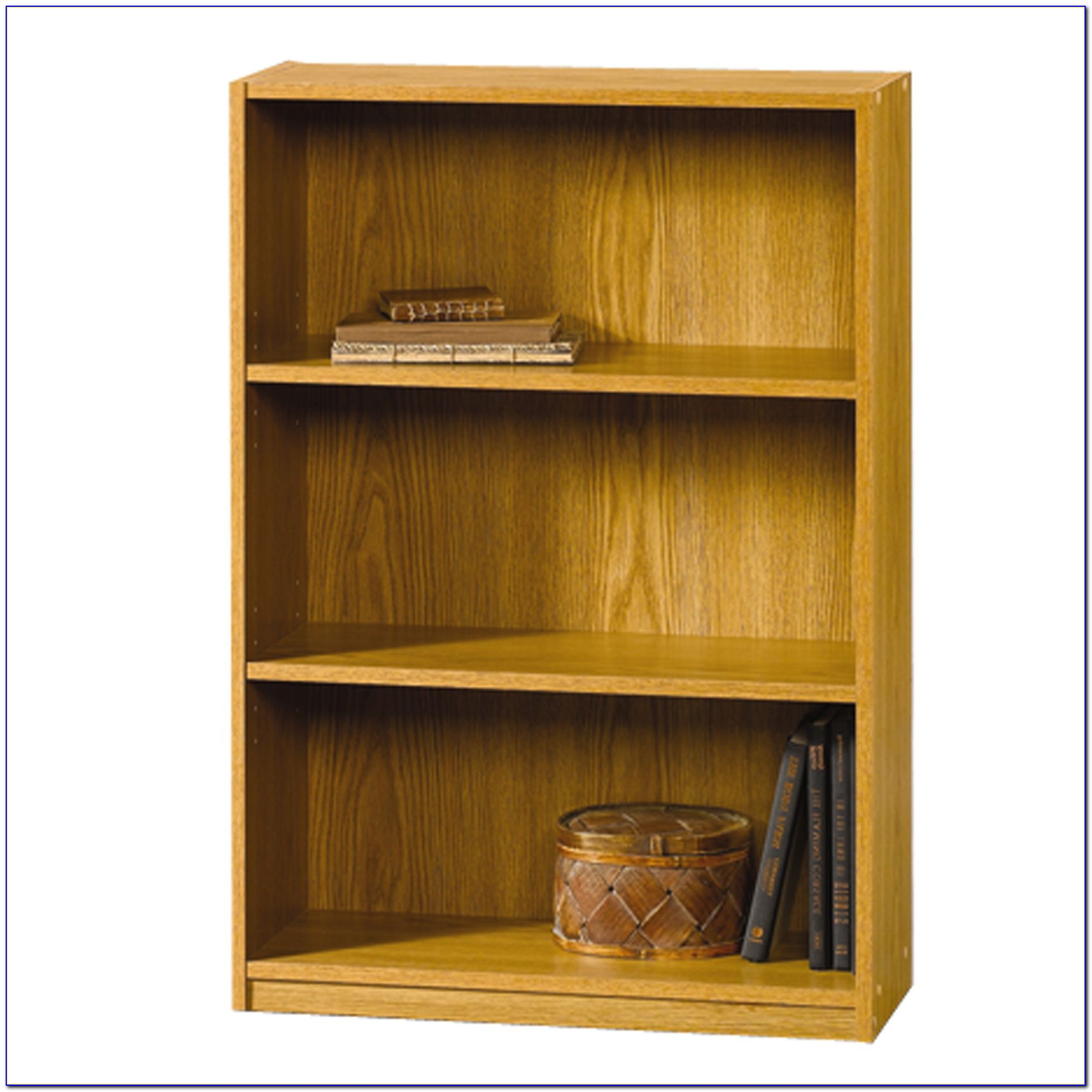 Sauder Oiled Oak Bookcase