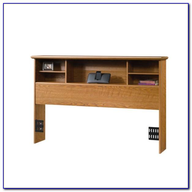 Sauder Orchard Hills Bookcase Headboard Twin