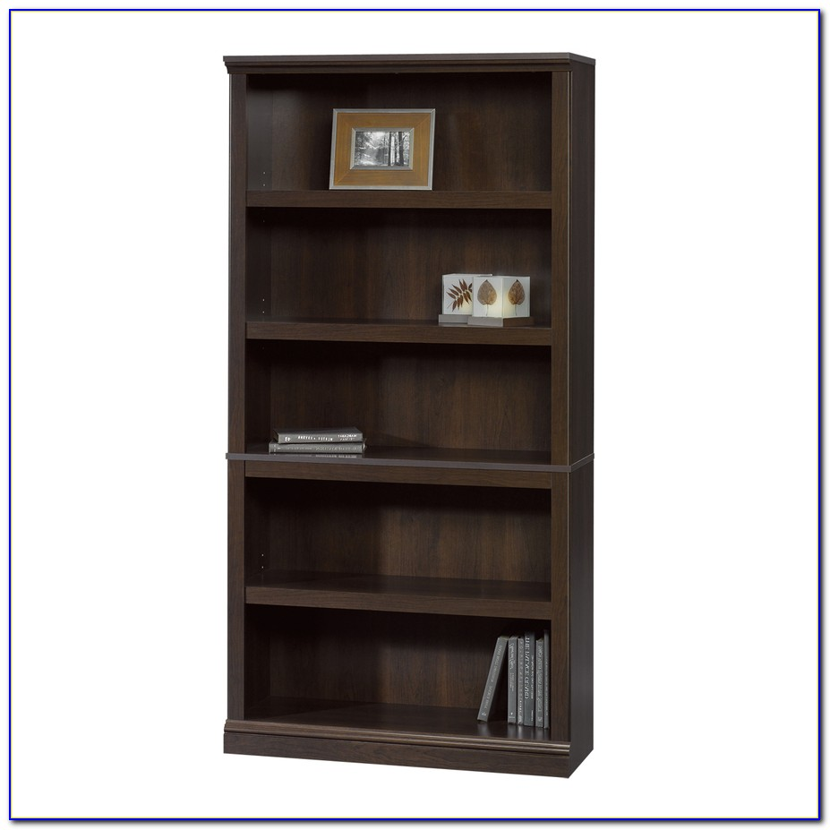 Sauder Shaker Cherry Bookcase