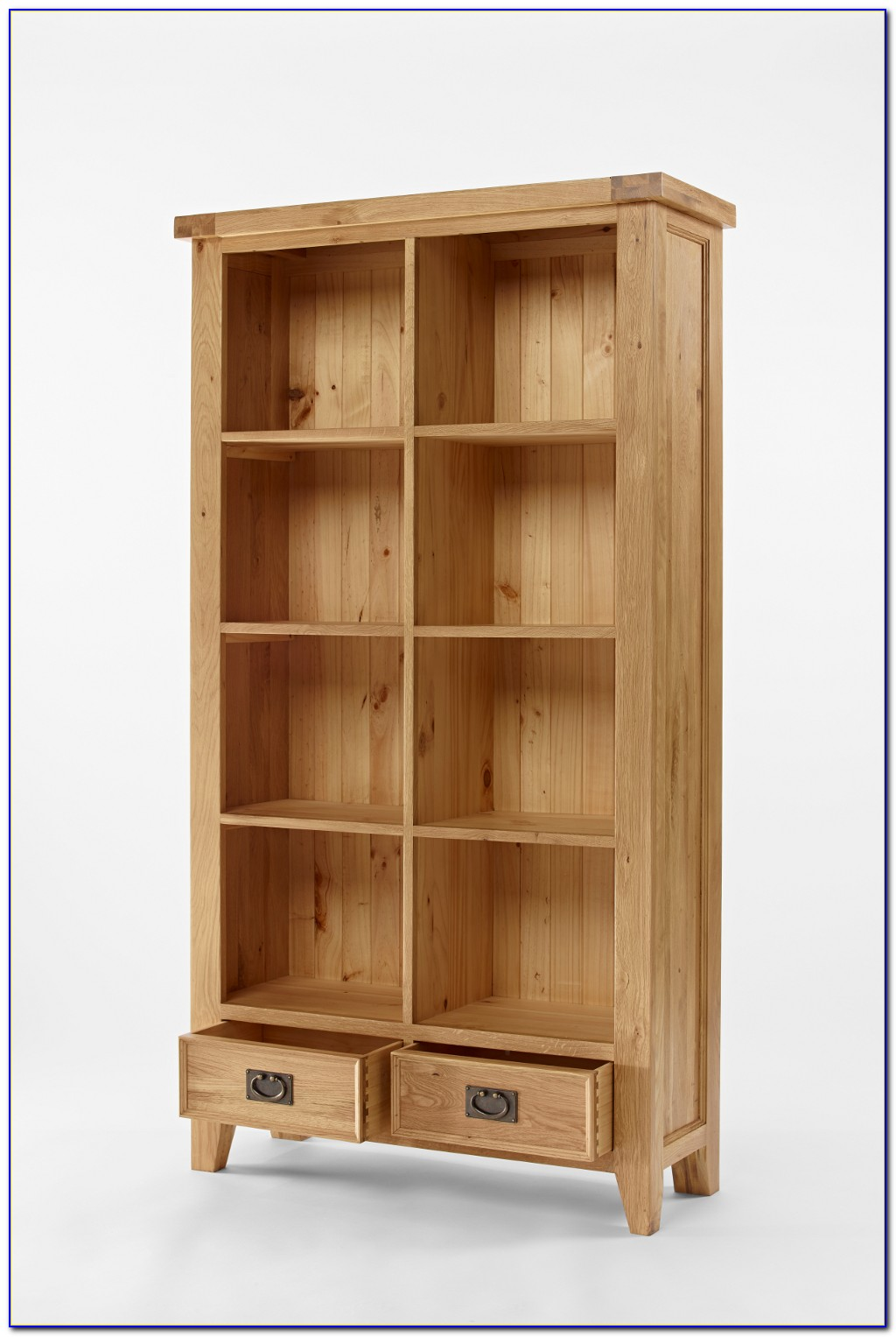 Short Bookcase With Drawers