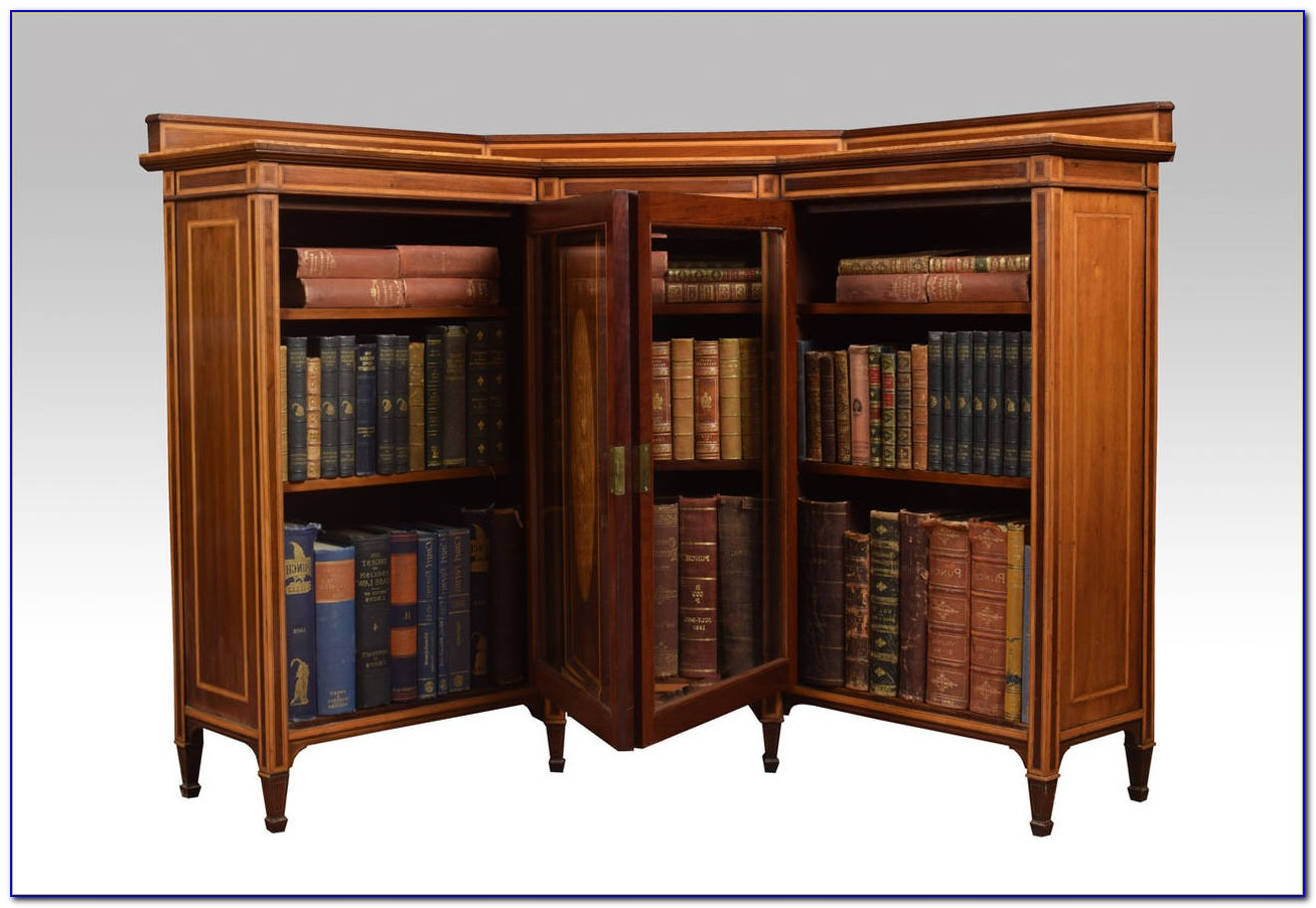 Short Corner Bookcase