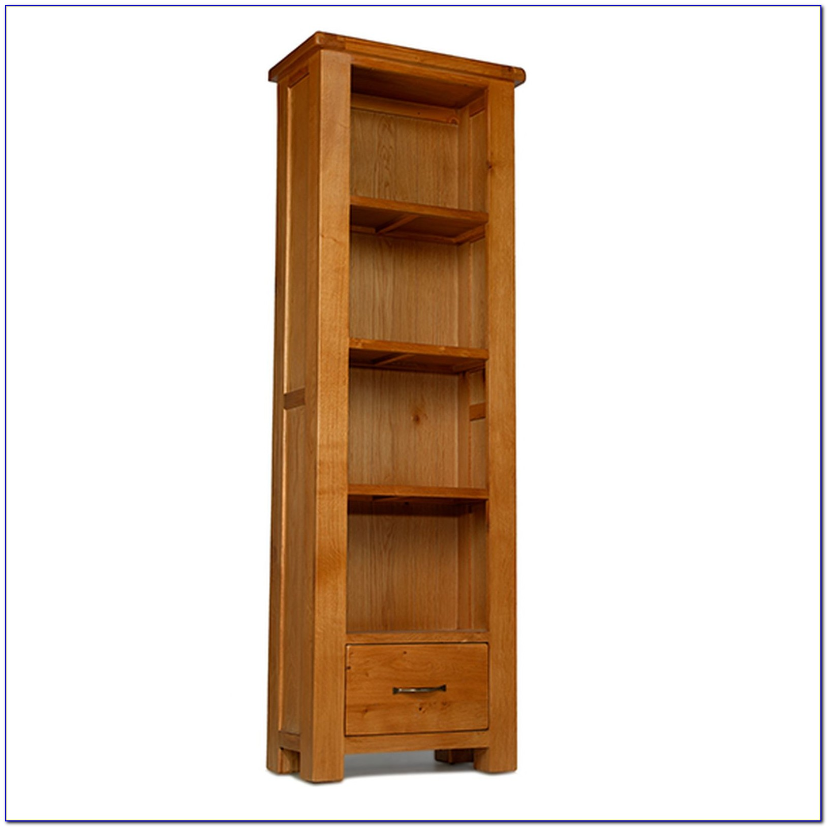 Skinny Bookcase With Drawers