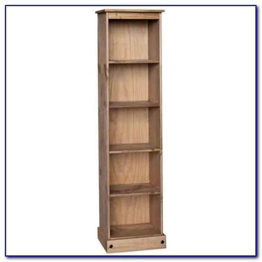 Skinny Wood Bookcase