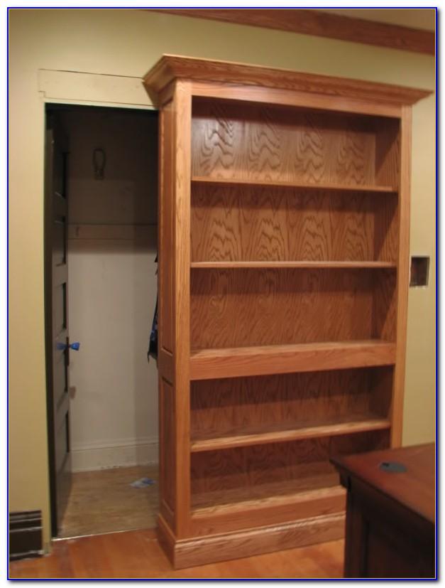 Sliding Bookcase Hidden Door