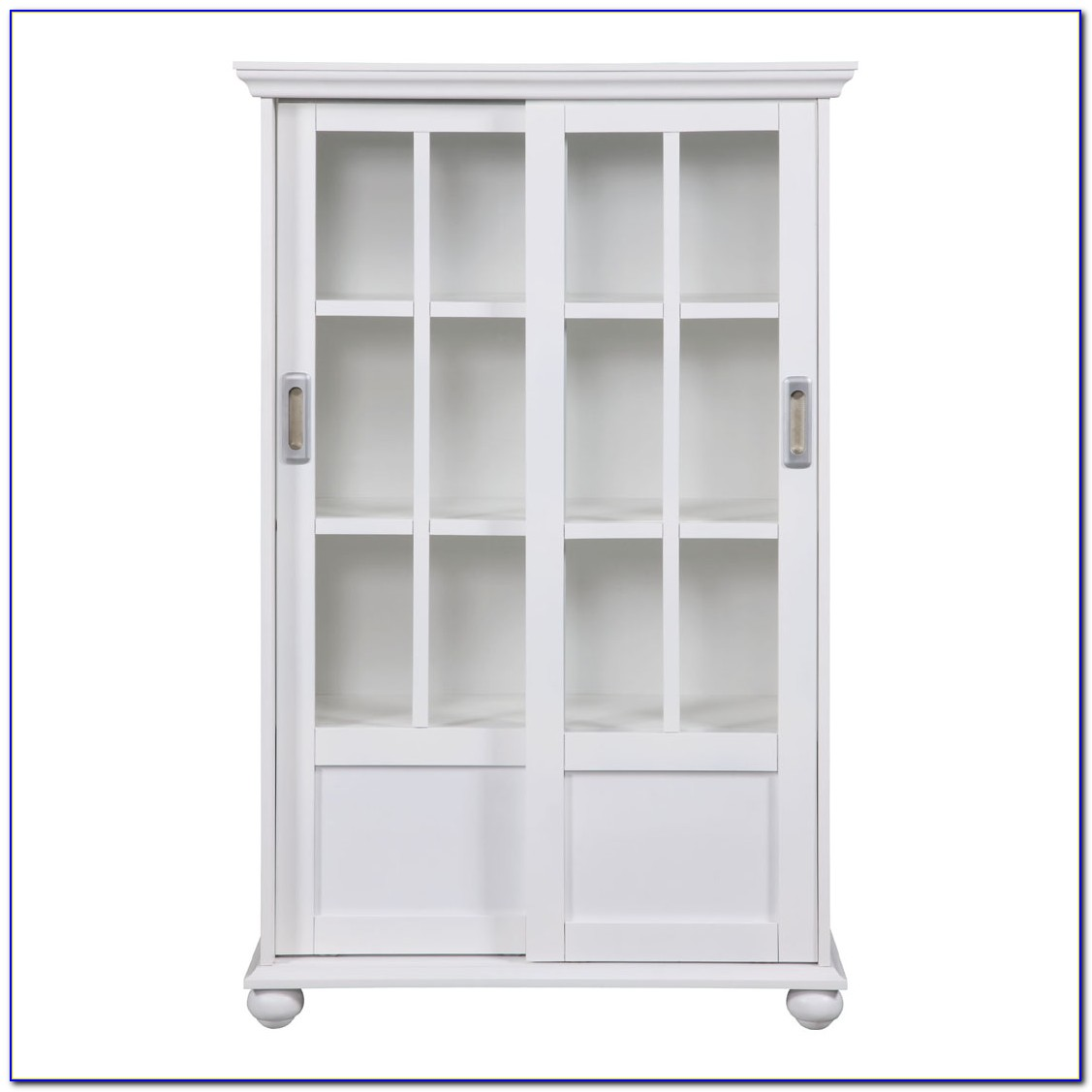 Sliding Glass Door Bookshelf
