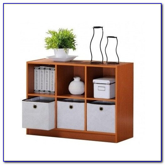 Sling Bookcase With Storage Bins Uk