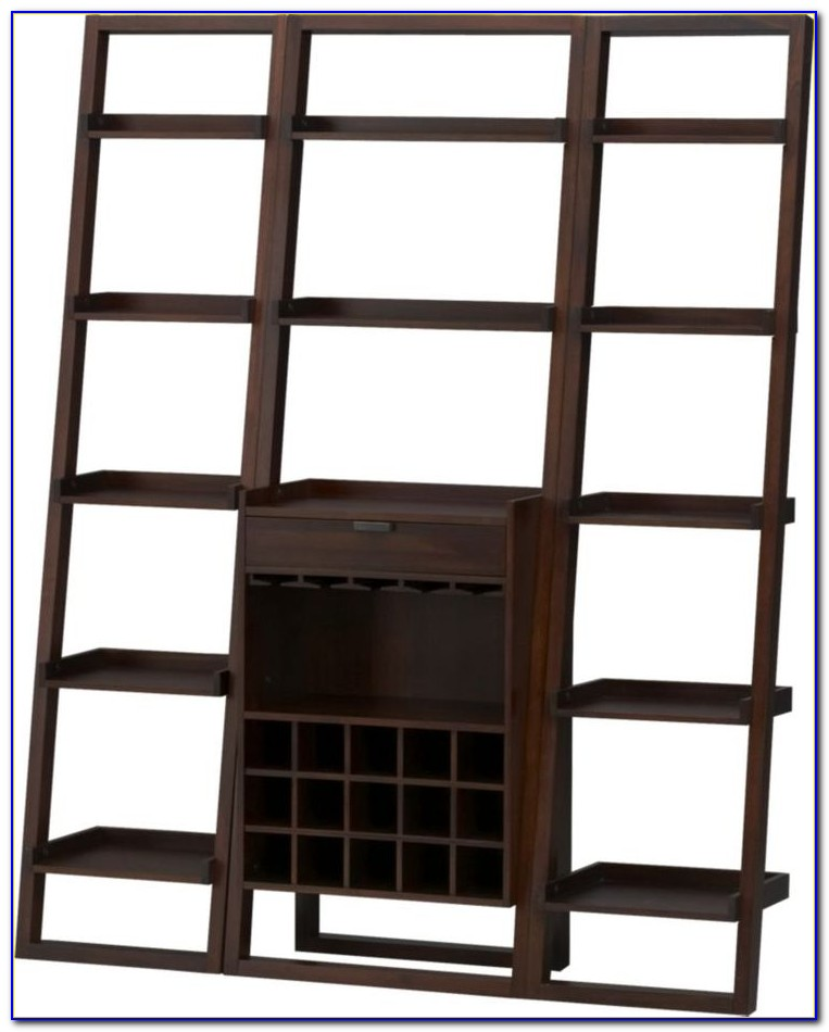 Sloane Leaning Bookcase Crate And Barrel