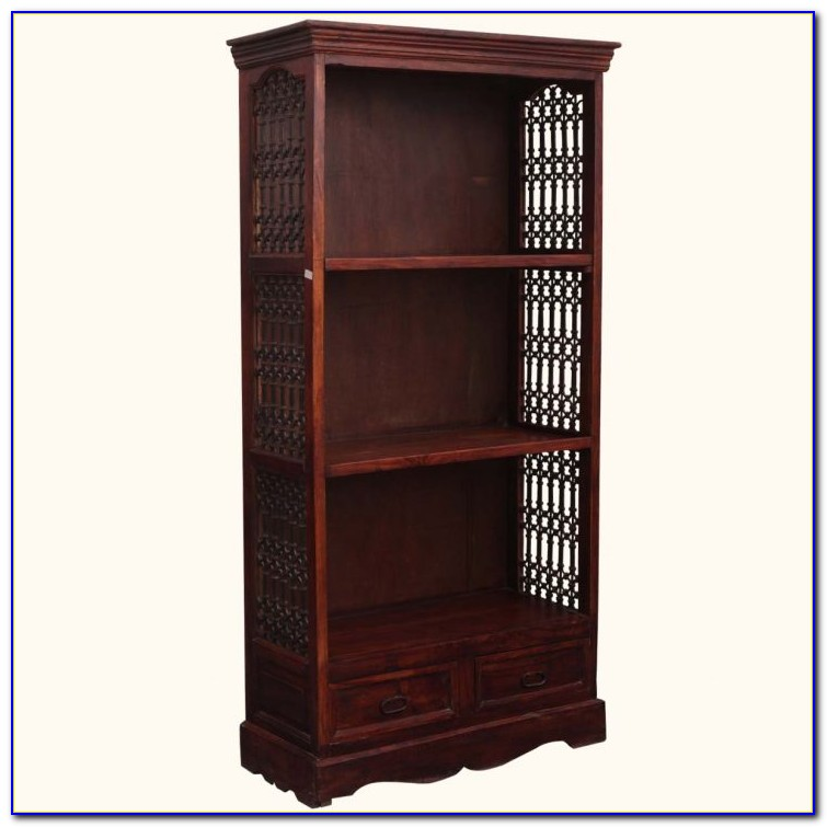 Small Cherry Wood Bookcase