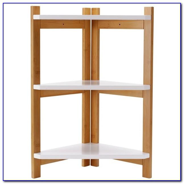 Small Corner Bookcase Unit