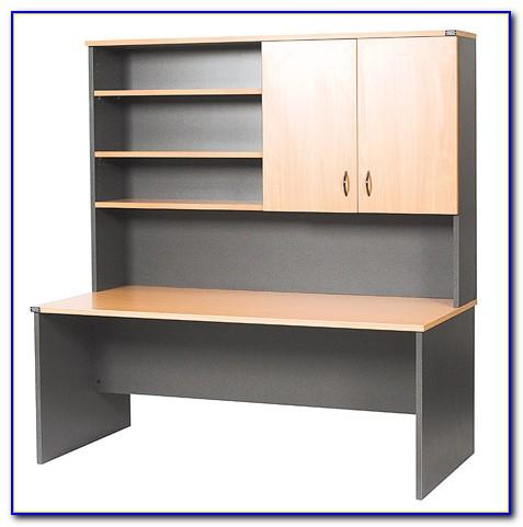 Small Desk With Bookcase Hutch
