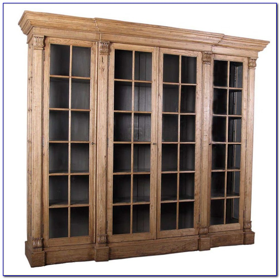 Small Glass Fronted Bookcases