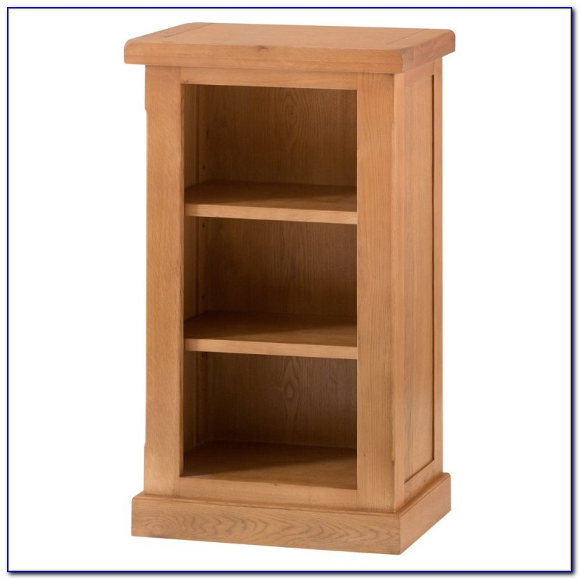 Small Narrow Pine Bookcase