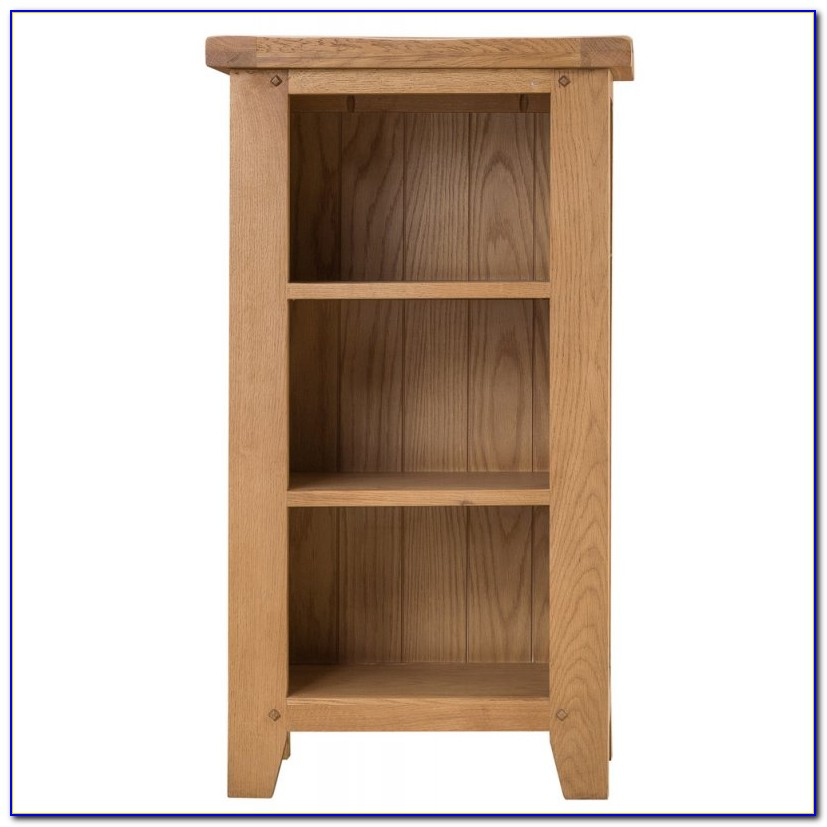 Small Narrow White Bookcase