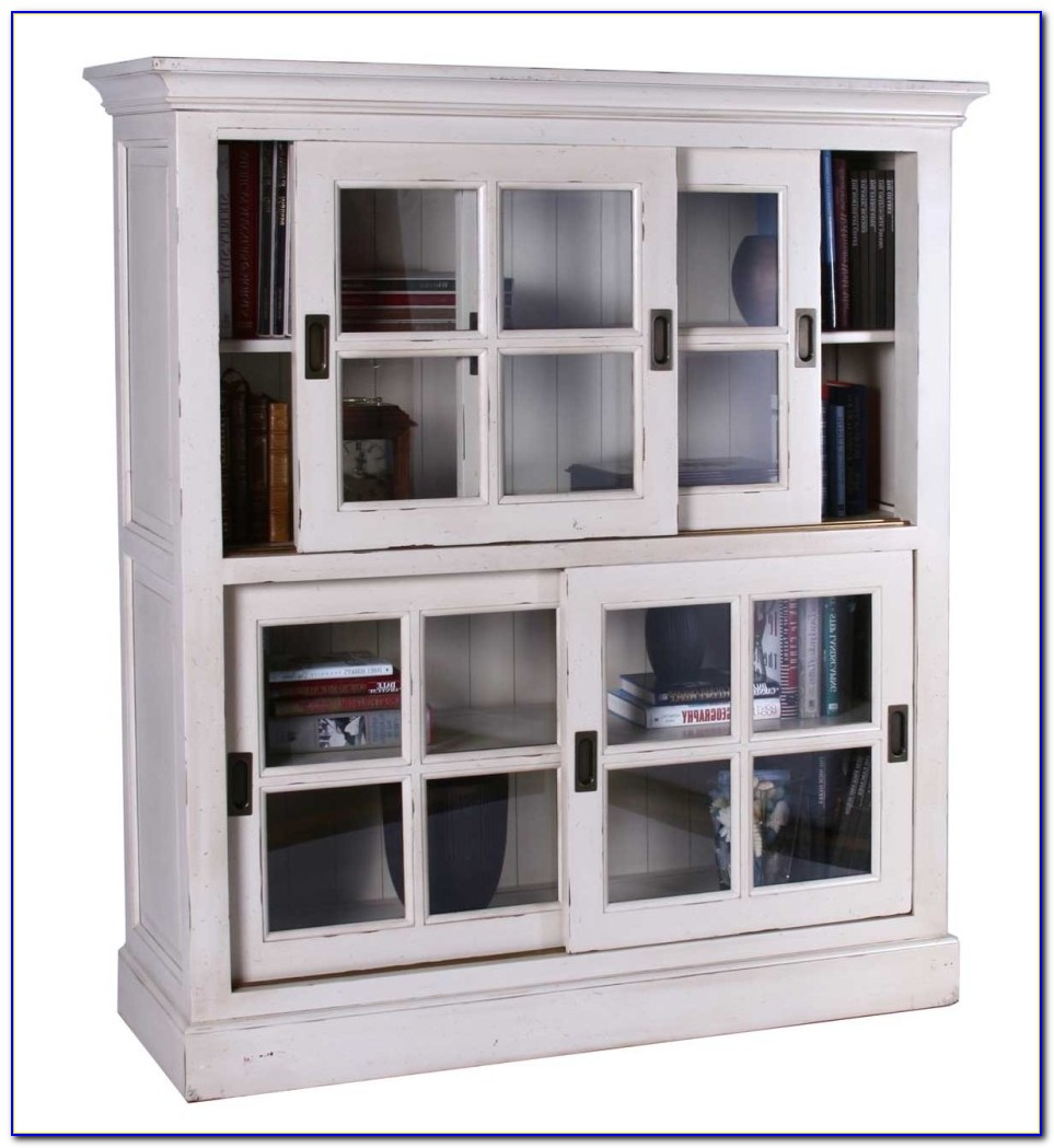 Small Sliding Glass Door Bookcase