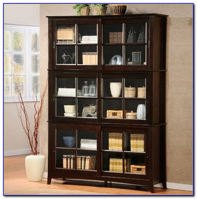 Solid Cherry Wood Bookcases