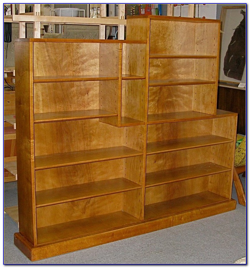 Solid Maple Bookcase Headboard