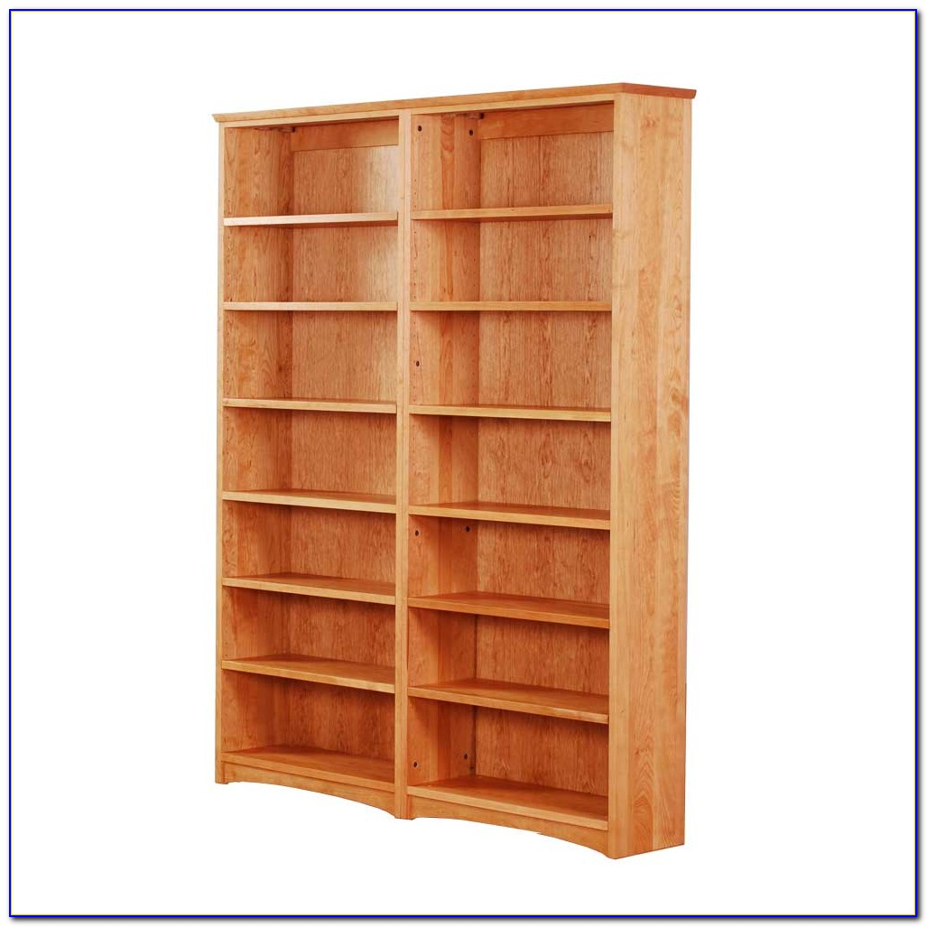 Solid Natural Cherry Bookcase