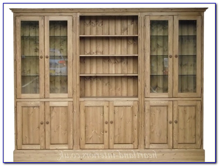 Solid Pine Bookcases Uk