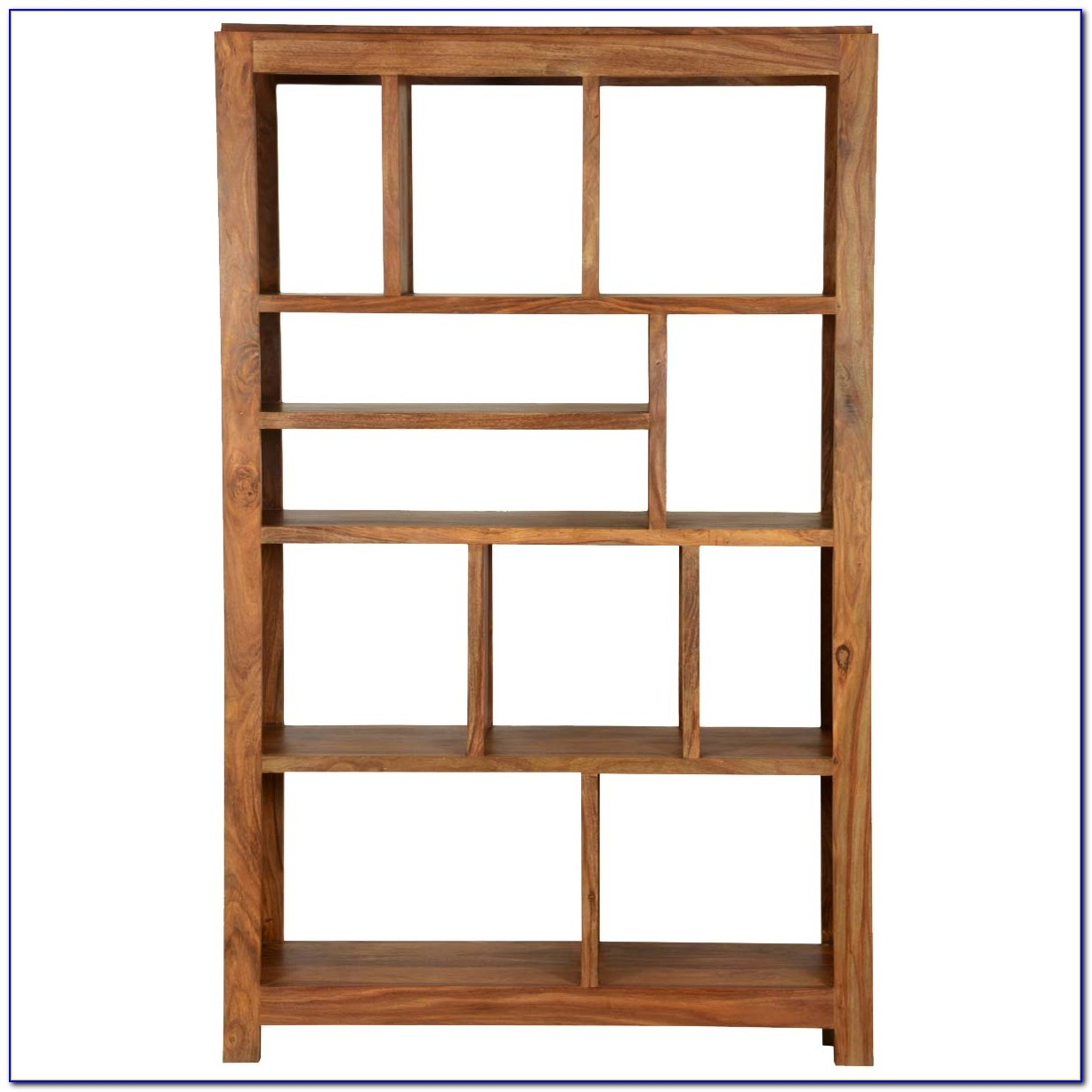 Solid Wood Cube Bookcase