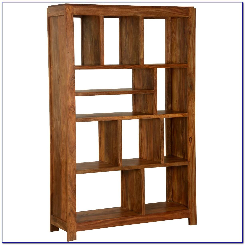 Solid Wood Cube Bookshelf