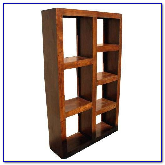 Solid Wood Cube Shelves