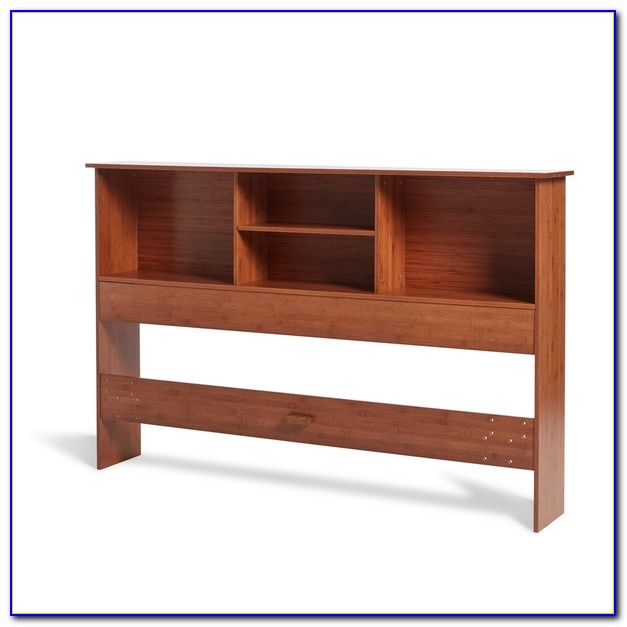 Solid Wood King Bookcase Headboards