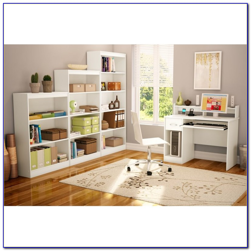 South Shore 3 Shelf Bookcase White