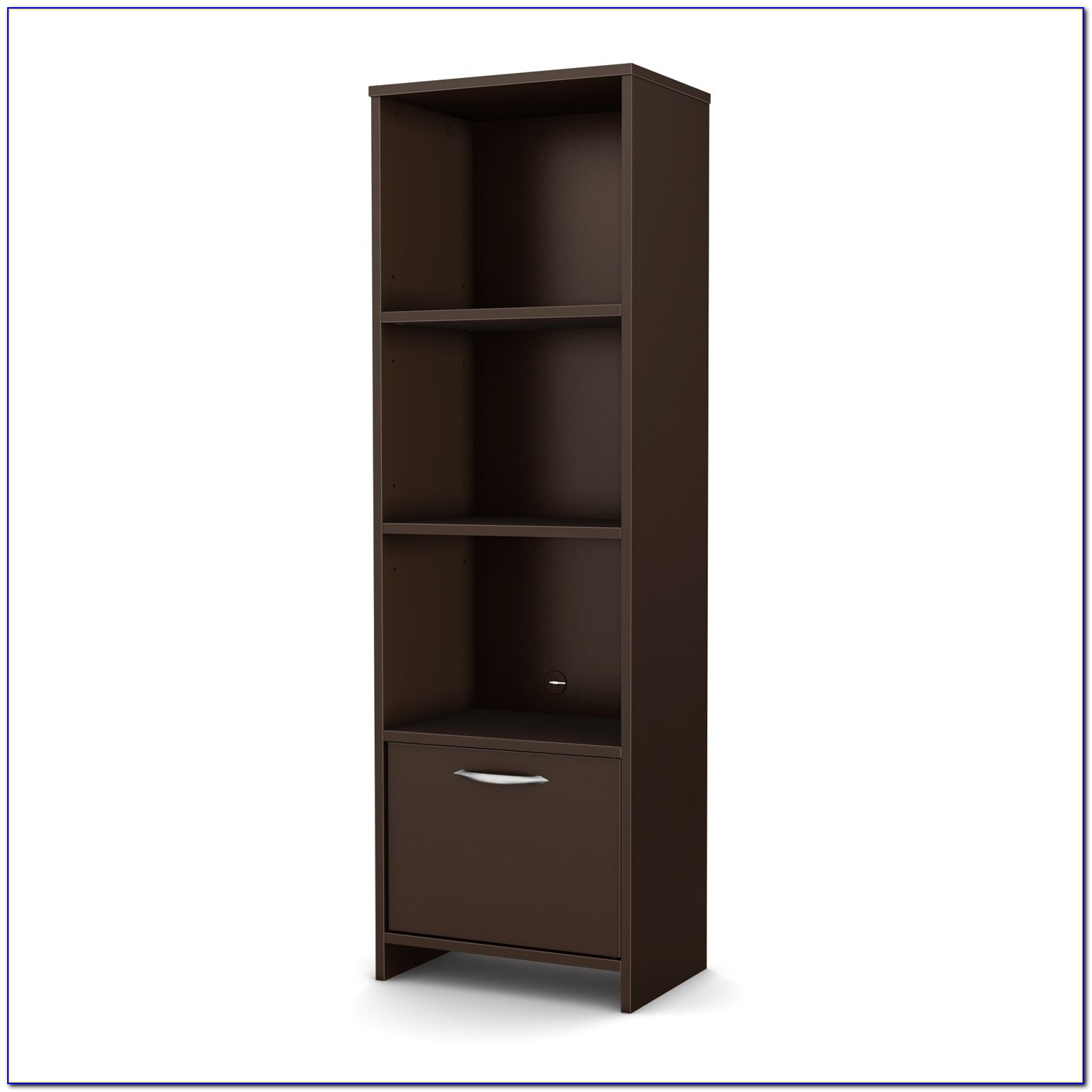 South Shore 3 Shelf Pasadena Bookcase