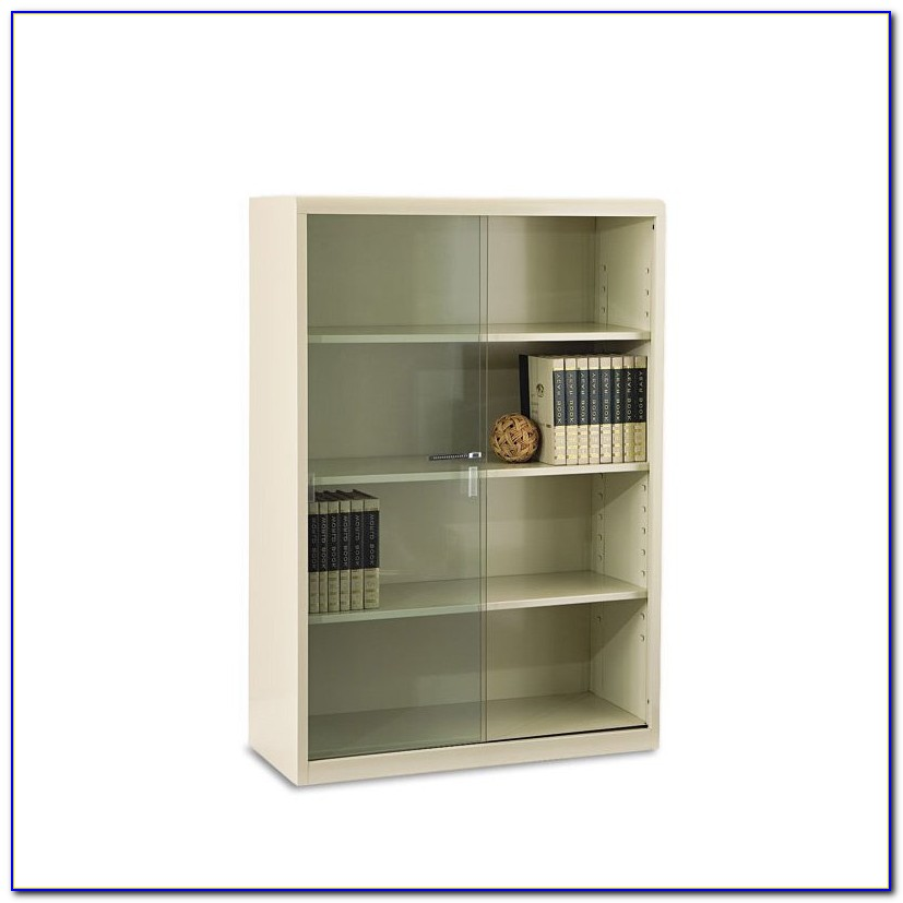 Steel Bookcase With Glass Doors Chennai
