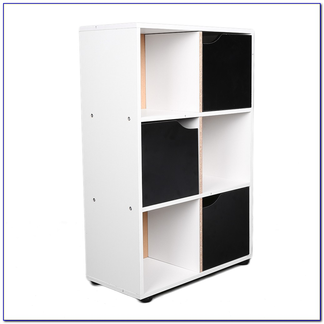 Storage Cube Wood Bookcase