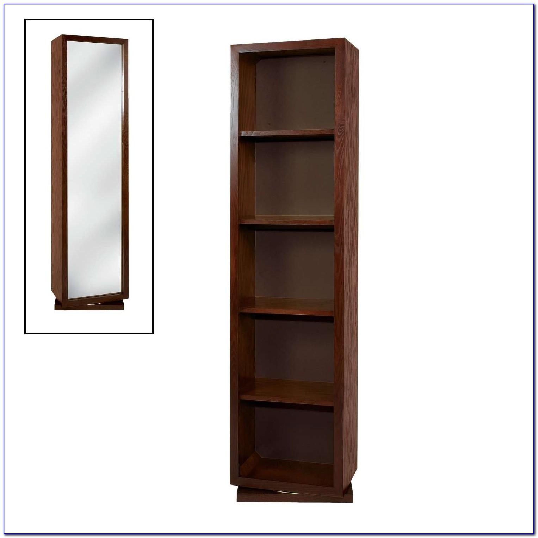 Swivel Bookcase Mirror