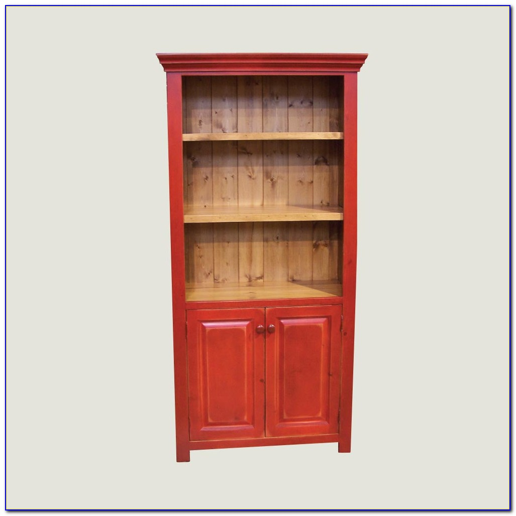 Tall Bookcases With Doors