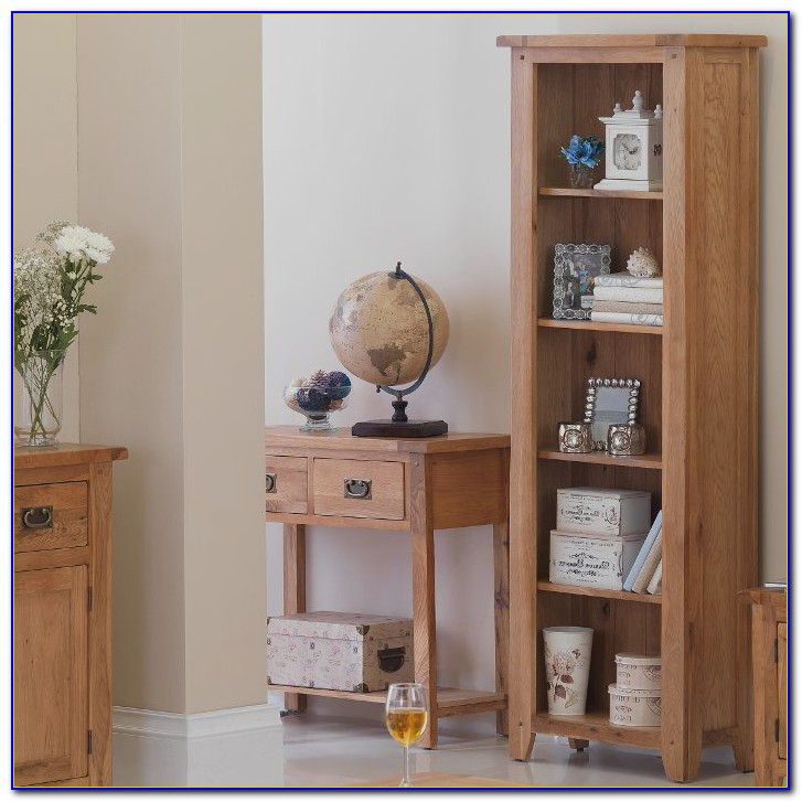 Tall Narrow Corner Bookcase