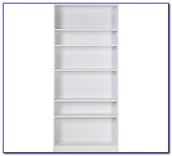 Tall Wide Bookcase White