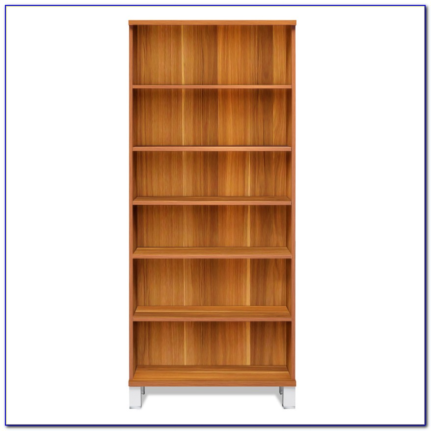 Tall Wood Bookcase With Drawers