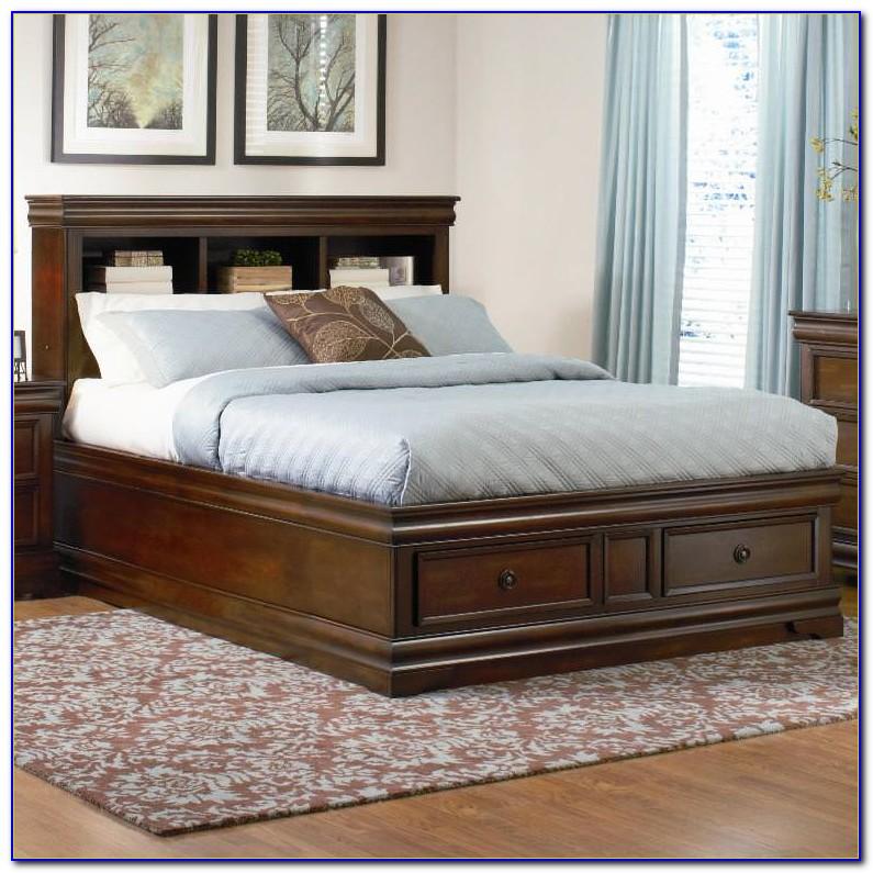 Twin Bookcase Platform Bed