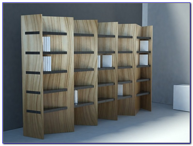 Two Sided Bookcase Room Divider