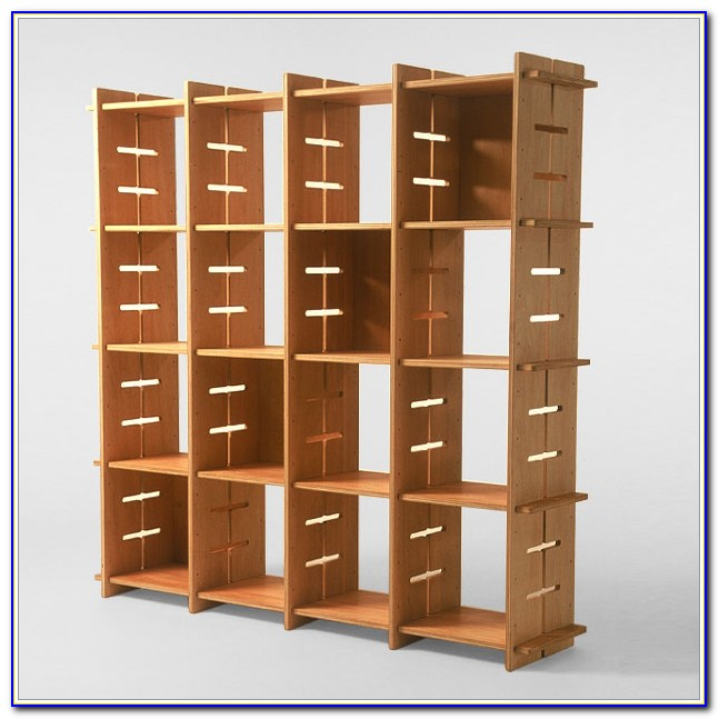 Two Sided Bookshelf