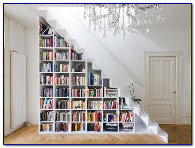Under Stairs Bookcase Design